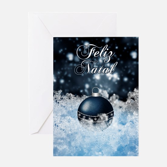 Portuguese Language Christmas Card