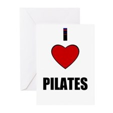 I LOVE PILATES Greeting Cards (Pk of 10)