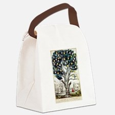 The tree of intemperance - 1849 Canvas Lunch Bag