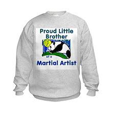 Martial Arts Little Brother Sweatshirt