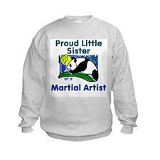 Martial Arts Little Sister Sweatshirt
