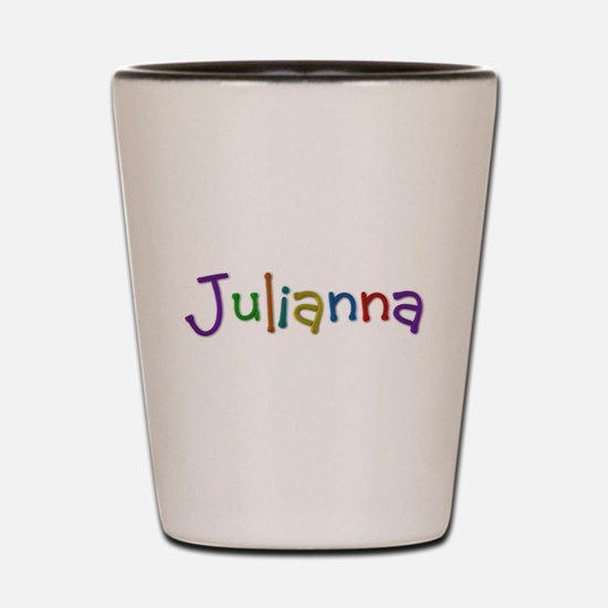 Julianna Play Clay Shot Glass