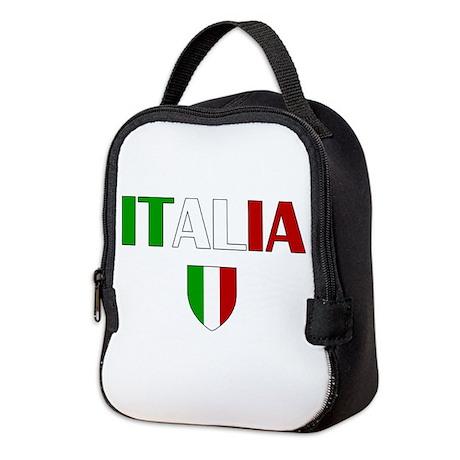 Italia Logo Neoprene Lunch Bag