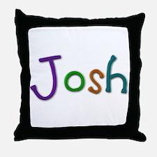 Josh Play Clay Throw Pillow