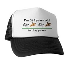 75 dog years birthday 2 Trucker Hat