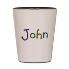 John Play Clay Shot Glass