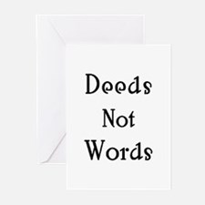 deeds Greeting Cards
