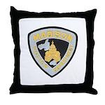 Madison Police Throw Pillow