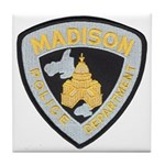 Madison Police Tile Coaster