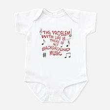 Background Music Infant Bodysuit