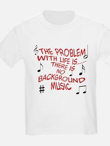 Background Music Kids T-Shirt