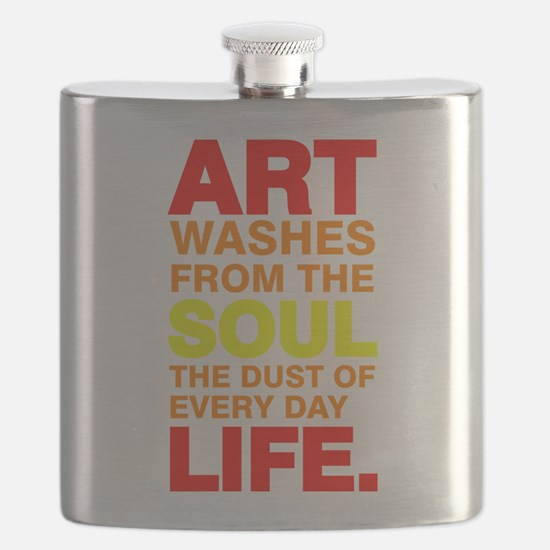Earth Without Art Flask