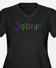Jazmin Play Clay Plus Size T-Shirt