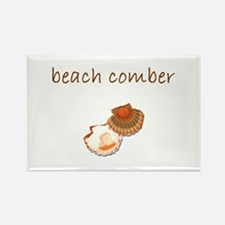 beach comber.bmp Rectangle Magnet