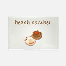 beach comber.bmp Rectangle Magnet