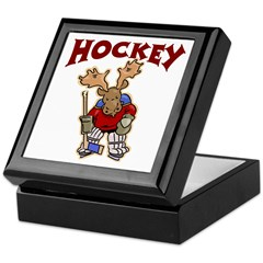 Hockey Keepsake Box