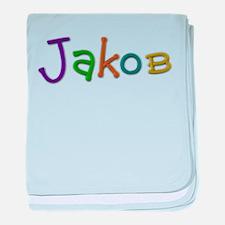 Jakob Play Clay baby blanket