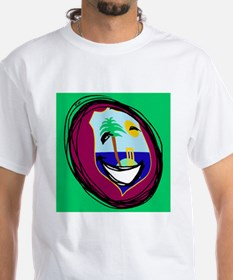 West Indies flag smiley T-Shirt