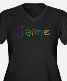 Jaime Play Clay Plus Size T-Shirt