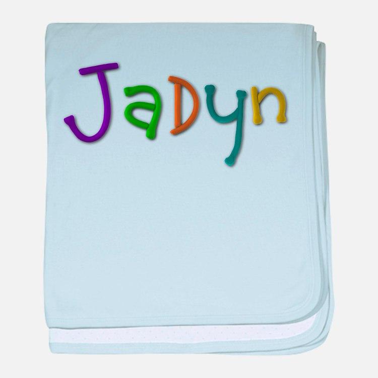 Jadyn Play Clay baby blanket