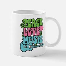 Peace-Love-Music Small Small Mug