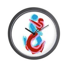 Lovers Wall Clock