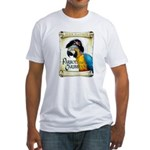 PARROTS of the CARIBBEAN Fitted T-Shirt