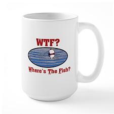 WTF? Where's the Fish? Mug