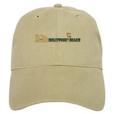 Hollywood Beach - Beach Design. Baseball Cap