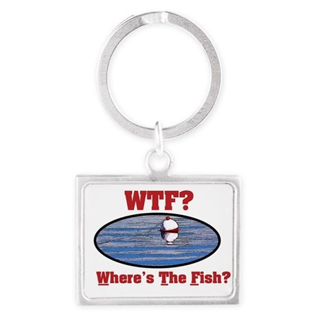 WTF? Where's the Fish? Keychains