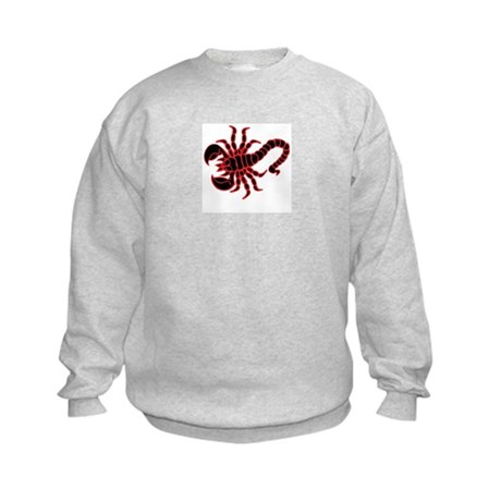 Muay Thai Scorpion Kids Sweatshirt