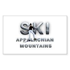 Ski Appalachian Mtns Decal