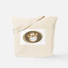 Cheese Grin Monkey Tote Bag