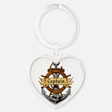 Captain and Anchor Keychains