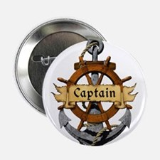 """Captain and Anchor 2.25"""" Button (100 pack)"""