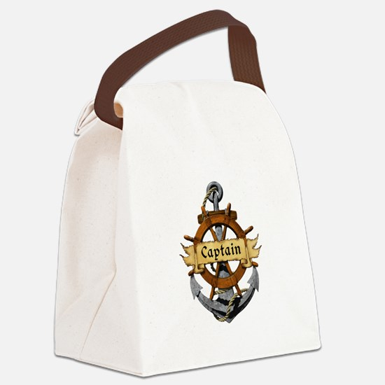 Captain and Anchor Canvas Lunch Bag