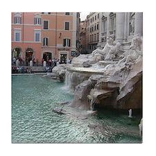 Trevi Fountain Tile Coaster