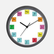 Periodic Table Clock Wall Clock