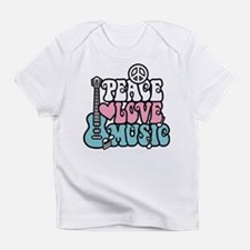 Peace Love Music Infant T-Shirt
