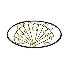Japanese Fan - Asian - Oriental - Decoration Patch