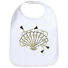 Japanese Fan - Asian - Oriental - Decoration Bib