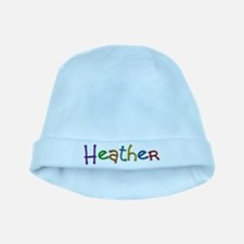 Heather Play Clay baby hat