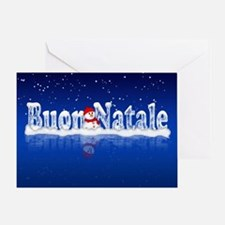 Buon Natale Italian Christmas Greeting Card