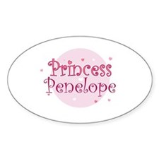 Penelope Oval Decal