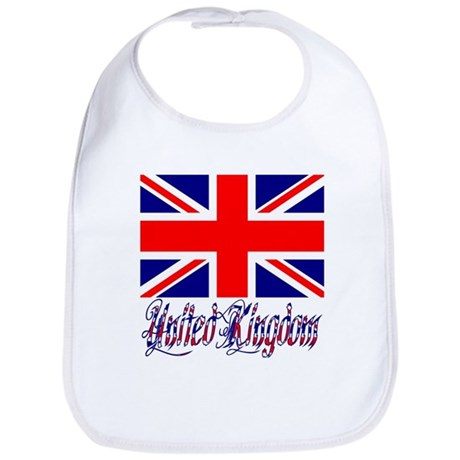 "UK Words & Flag ""Cretino"" Bib"
