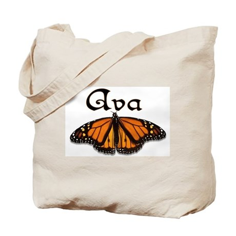 """""""Ava Monarch Butterfly"""" Tote Bag"""
