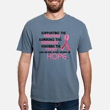 Unique Breast cancer support Mens Comfort Colors Shirt