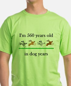 80 birthday dog years 1 T-Shirt
