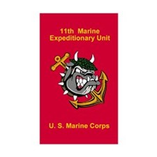11th Marine Expeditionary Unit Decal