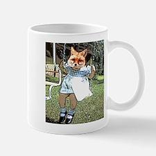 Red Fox Swings Mug